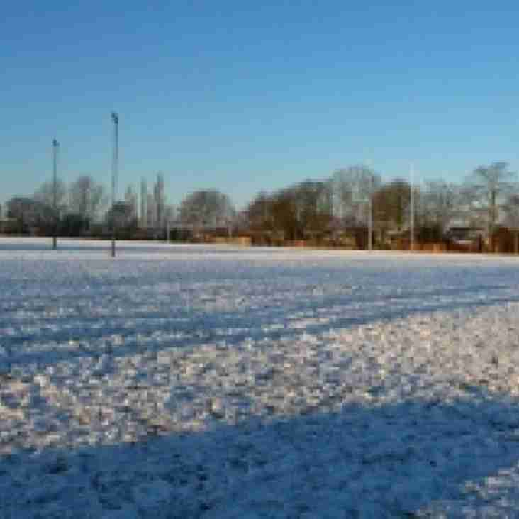 All Rugby at King George's Cancelled Sunday 18/3/2018