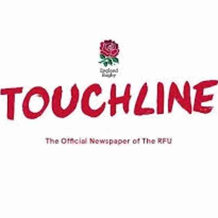 Read Septembers RFU Touchline Magazine