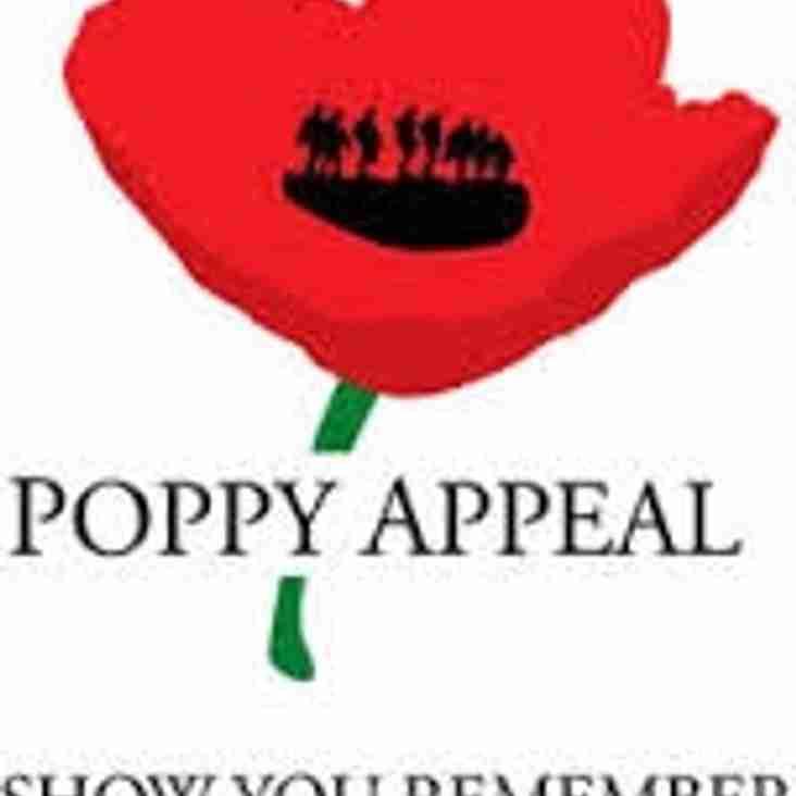 2016 Royal British Legion Poppy Appeal