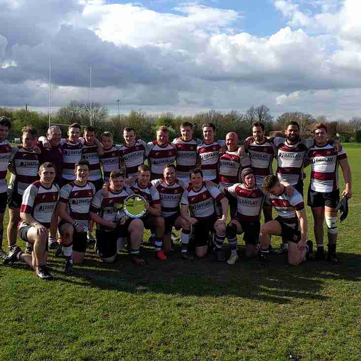 2nd XV in Essex Cup Final - CHAMPIONS !!!!