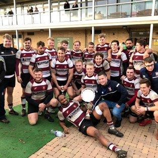 2nd XV Retain Essex RFU Cup!
