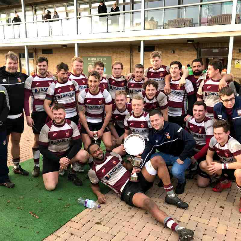 Essex 2's Cup Final 10th March 2018