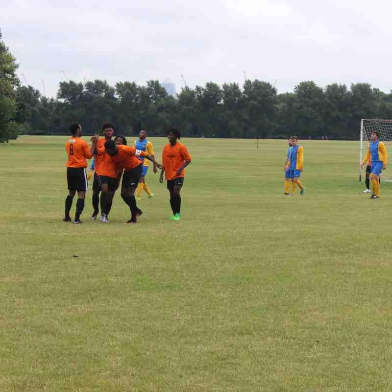 Pre Season: Tower Hamlets FC vs Sporting Hackney FC 15/07/2017