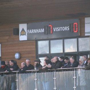 Farnham crush Purley John Fisher to clinch promotion