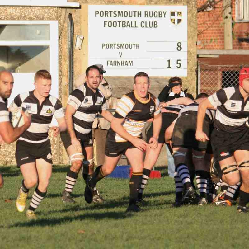 1st XV v Portsmouth 6/12/14