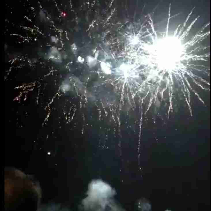 Farnham Rugby Fireworks Display sponsored by Charters Estate Agents