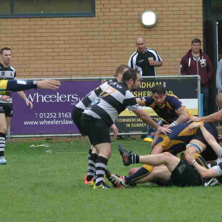 Farnham 1st XV v Basingstoke 8th April 2017