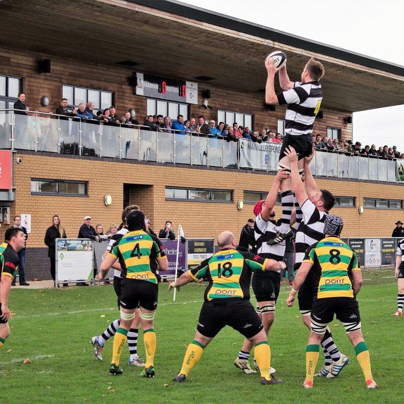 4th XV - The Barbarians lose to Old Freemans (Cup Final) 17 - 14
