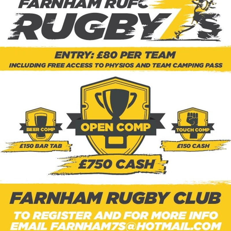 Farnham 7s - 27 April 2019