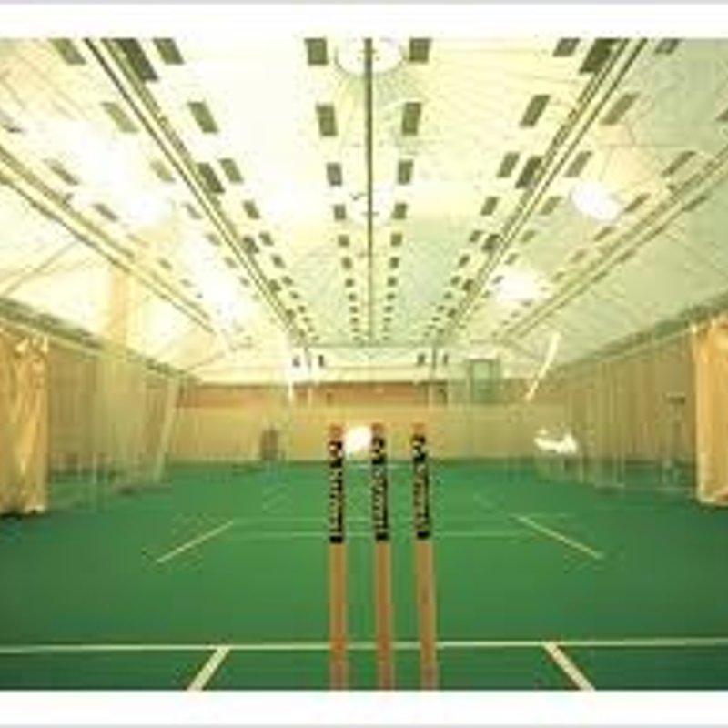 Winter nets for U13-U16 at Writtle Indoor