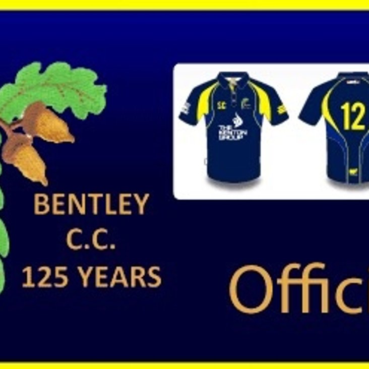 Bentley Cricket Club Training kit now available to order<