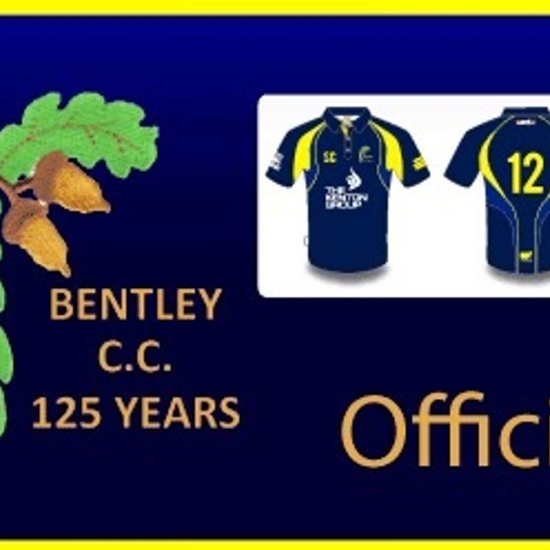 Bentley Cricket Club Training kit now available to order