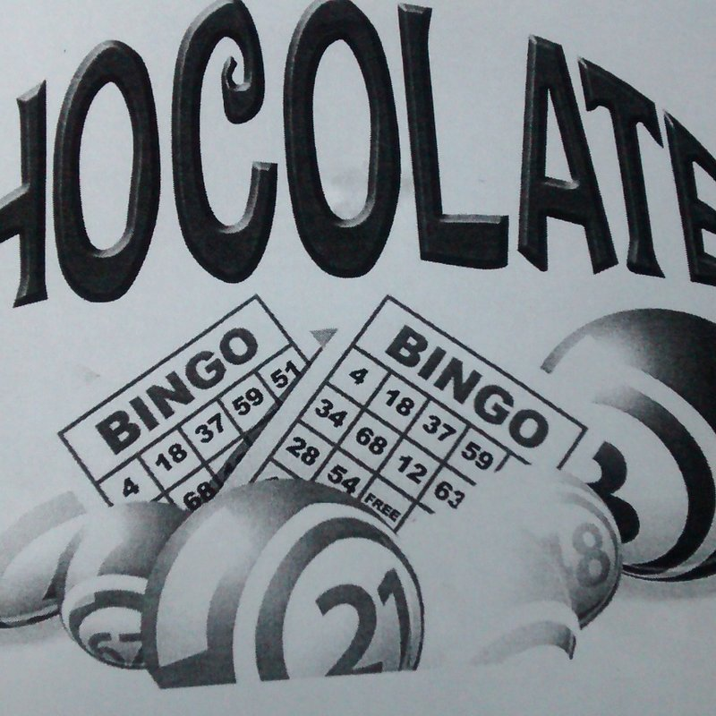 EASTER CHOCOLATE BINGO FRIDAY 30th MARCH