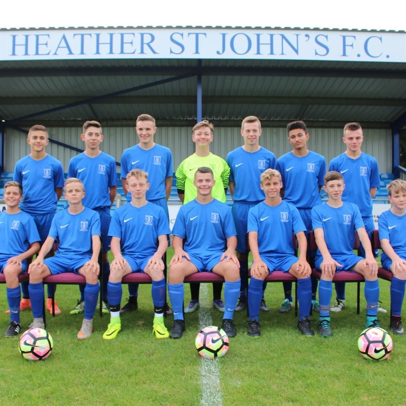 Heather St.Johns U15 FC  5-1  Lye Town U15 FC