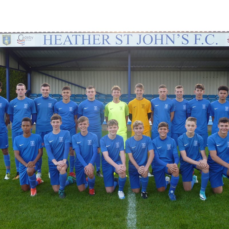 Heather St.johns U18 FC v Gresley U18 FC