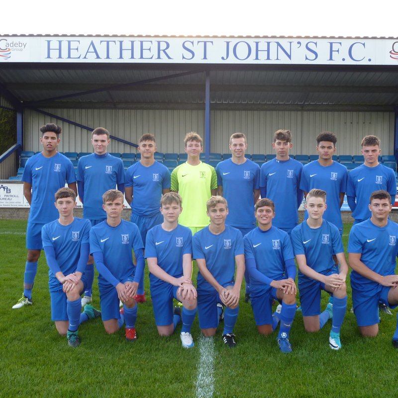 Under 16 Lions beat Leicester Road FC 0 - 3