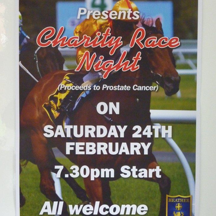 RACE NIGHT - CHARITY FUNDRAISER SATURDAY 24TH FEBRUARY<