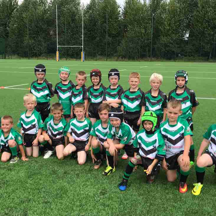 Under 7s finally make home debut in 2017