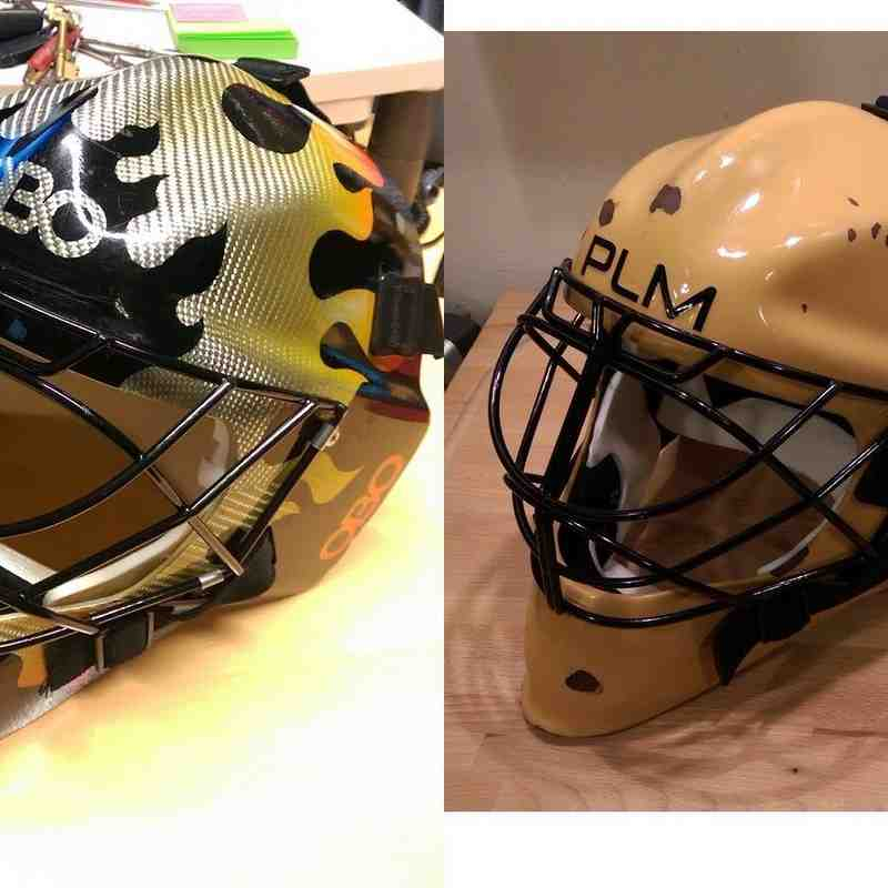 Keeper's Helmet Project Log