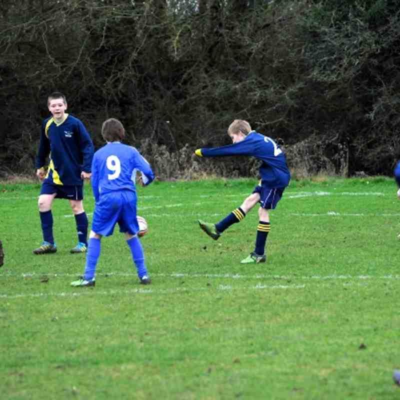 U13 Blues Barton Rovers (H) 08-01-12