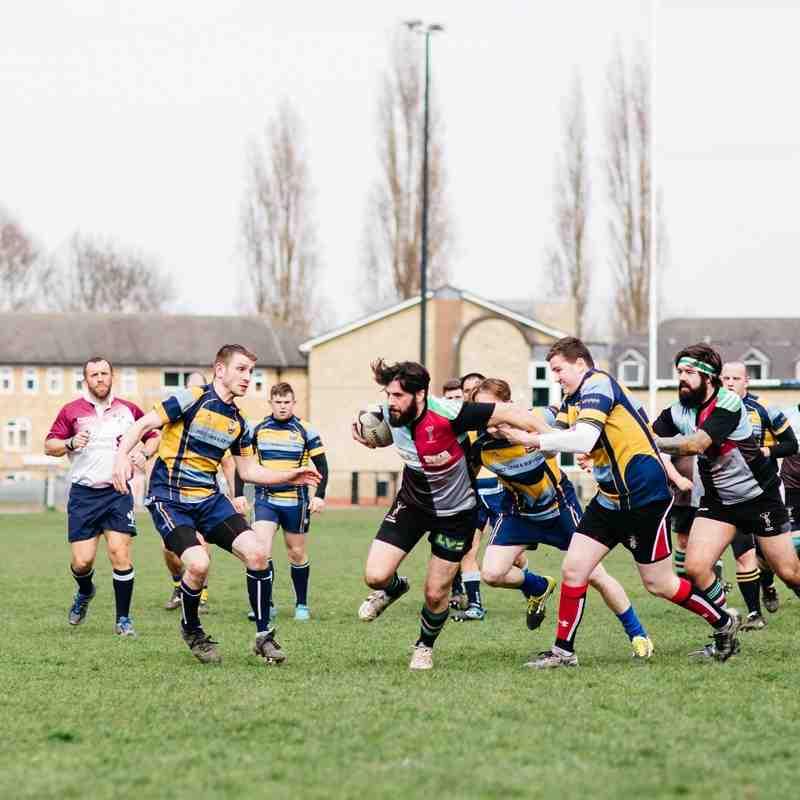 Senior 1st XV v Feltham - 2nd April 2016