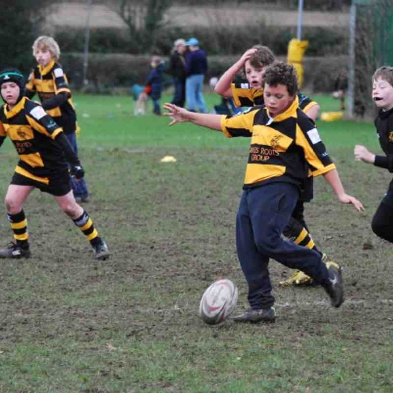 Under 11's vs Welwyn 4 Dec 2011