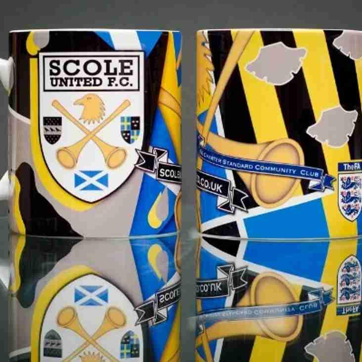 Club Mugs now on sale £6.50 each