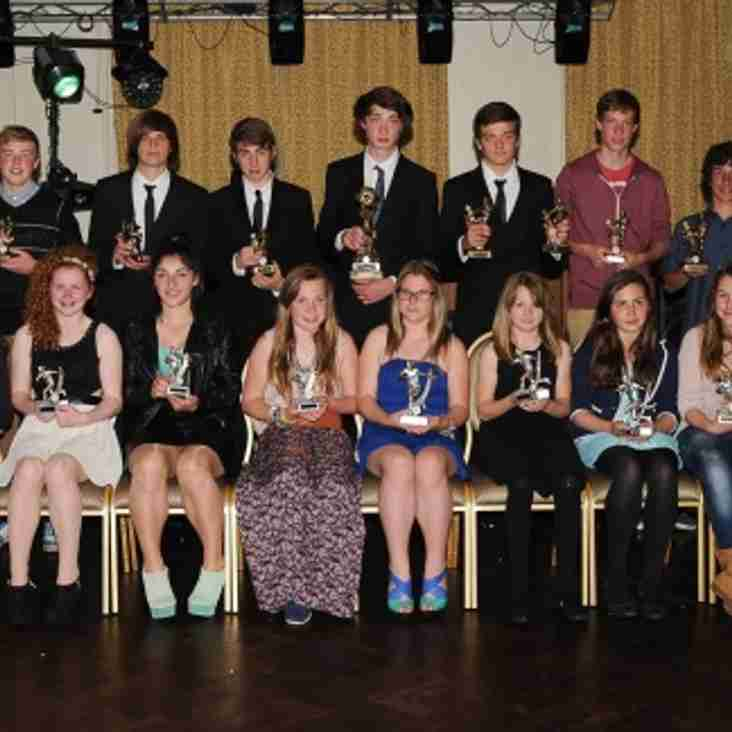Junior Presentation Award Winners