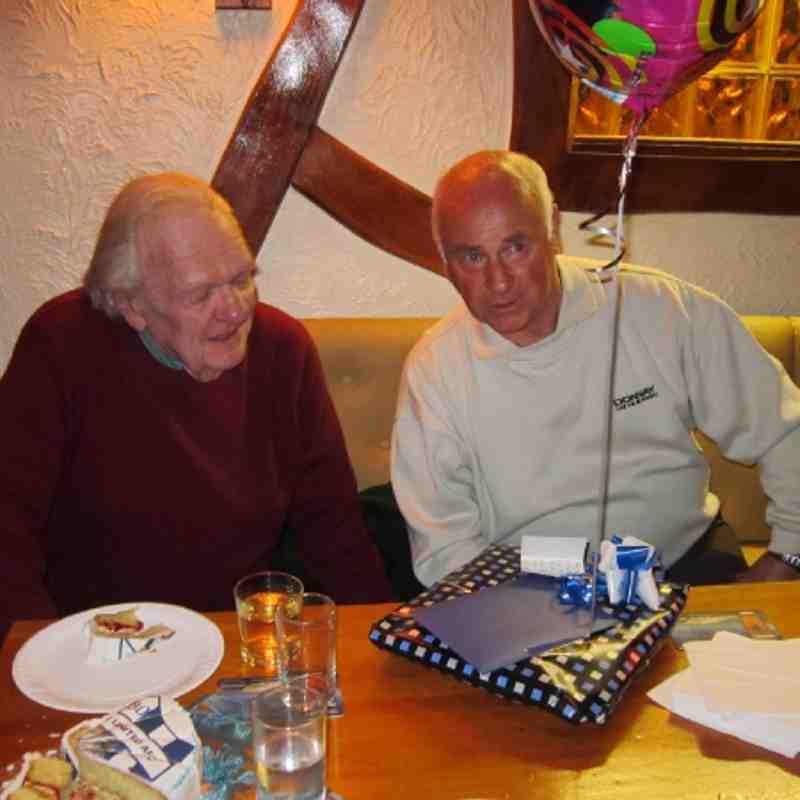 Les Cory's 80th Birthday RIP our Delabole Legend