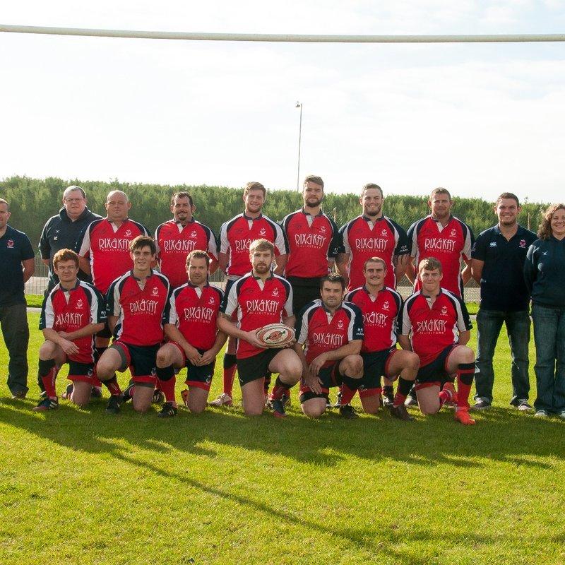 1st XV lose to New Milton RFC 32 - 17