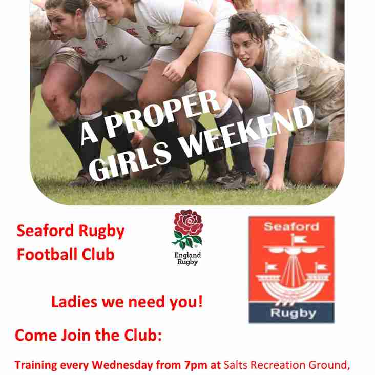 Seaford Ladies Recruit for the new league season