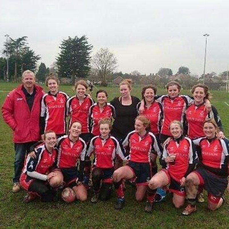 Seaford Ladies  beat New Ash Green Ladies 24 - 38