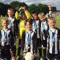 Under 8 beat Goldsworth Park Rangers Cardinals 3 - 10