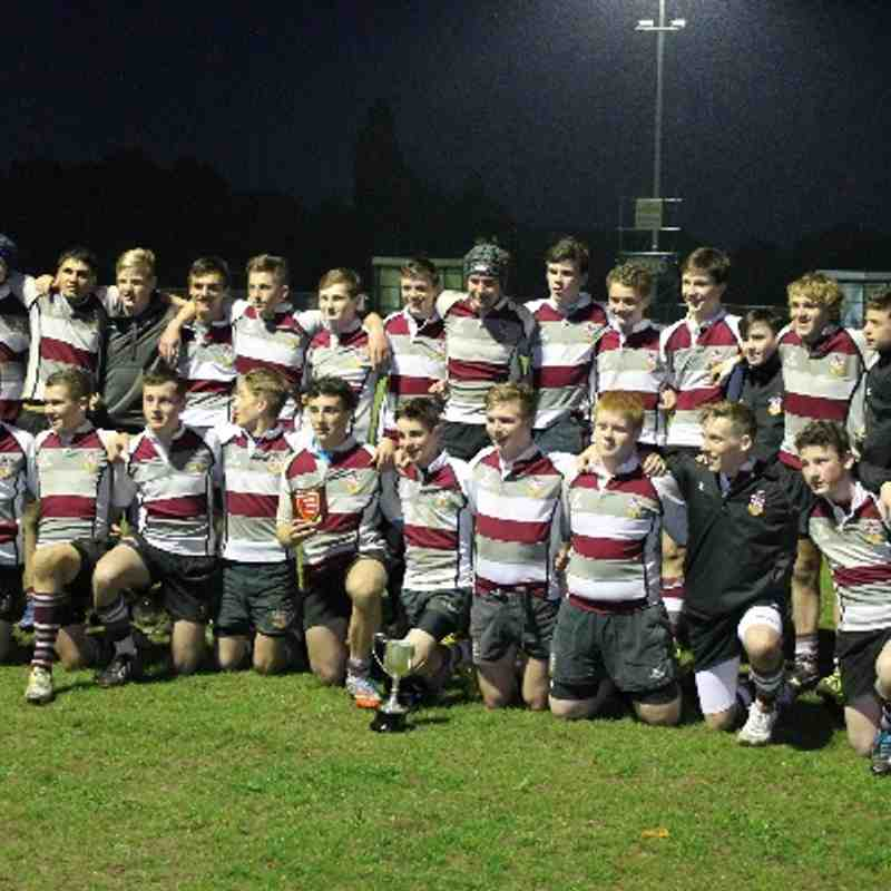 Brentwood U15's Essex Cup Final 2014