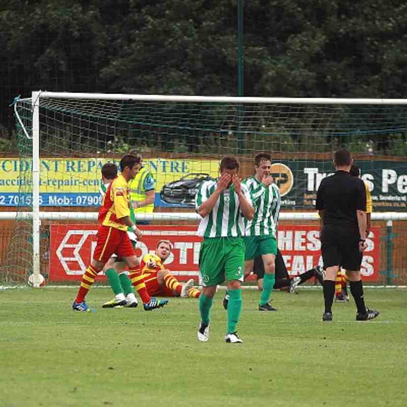 Biggleswade Town 1 Enfield Town 2