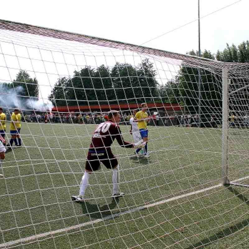 YBSK Beveren 0 Enfield Town 4 (26/07/14)