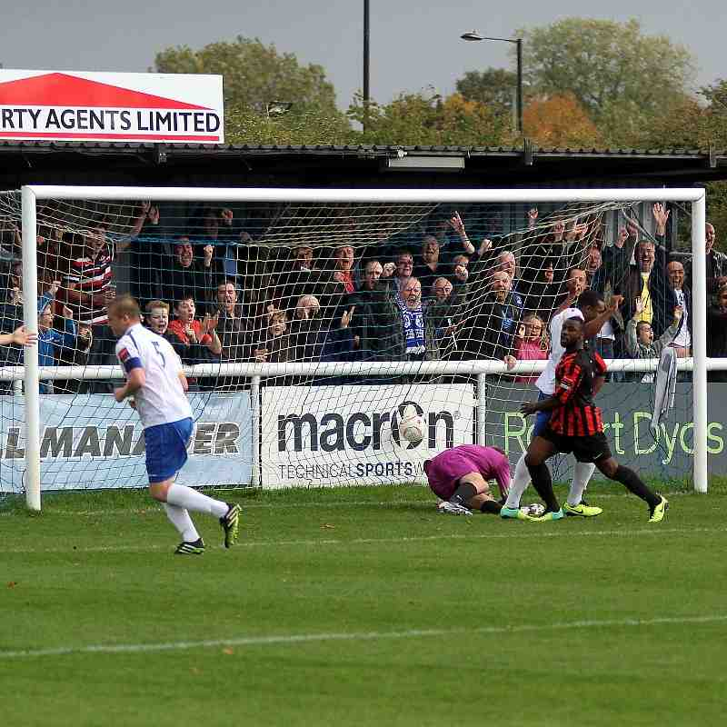 Enfield Town 3 Lewes 0 (18/10/14)