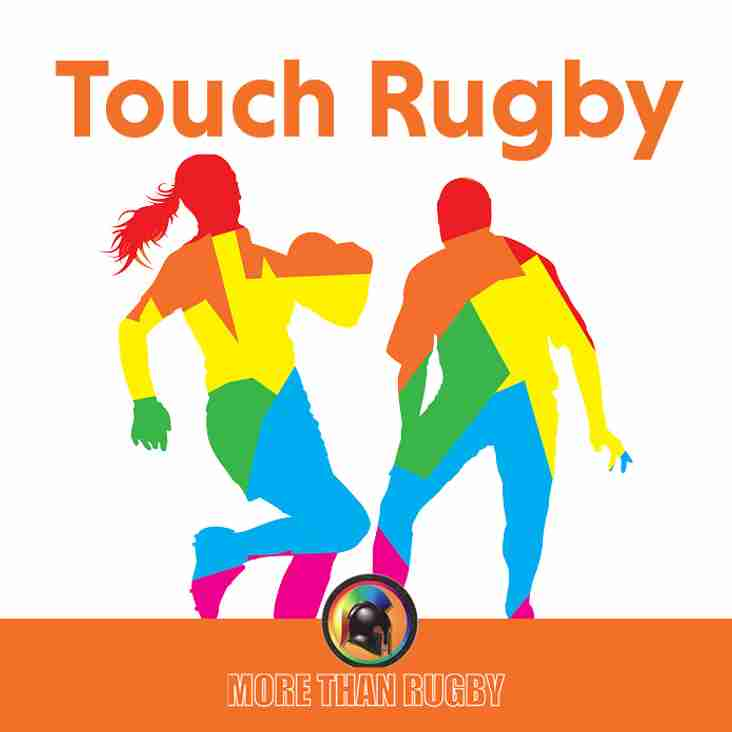 Touch Rugby is on a two week rest - Back w/c 30th October