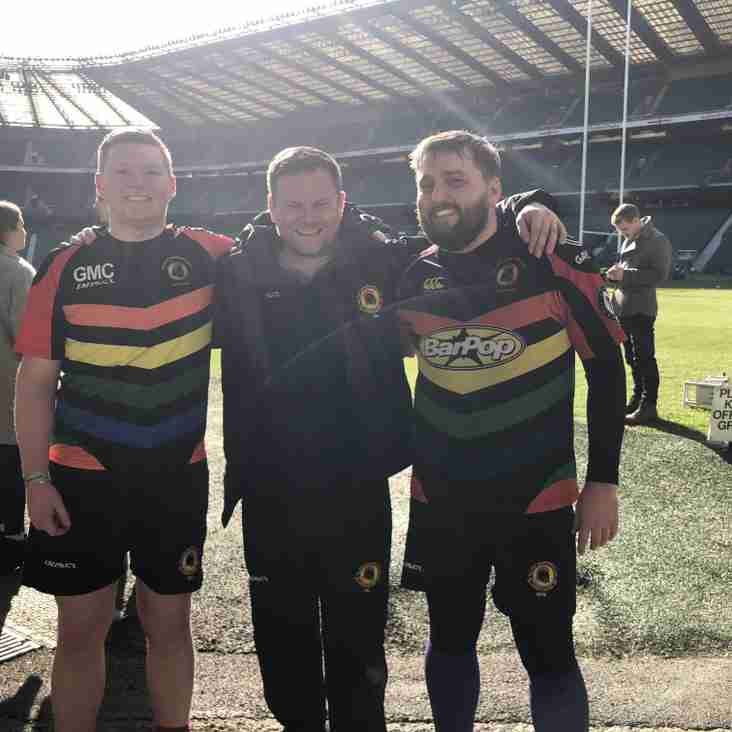 Spartans meet HRH Prince Harry & play with England heroes at Twickenham