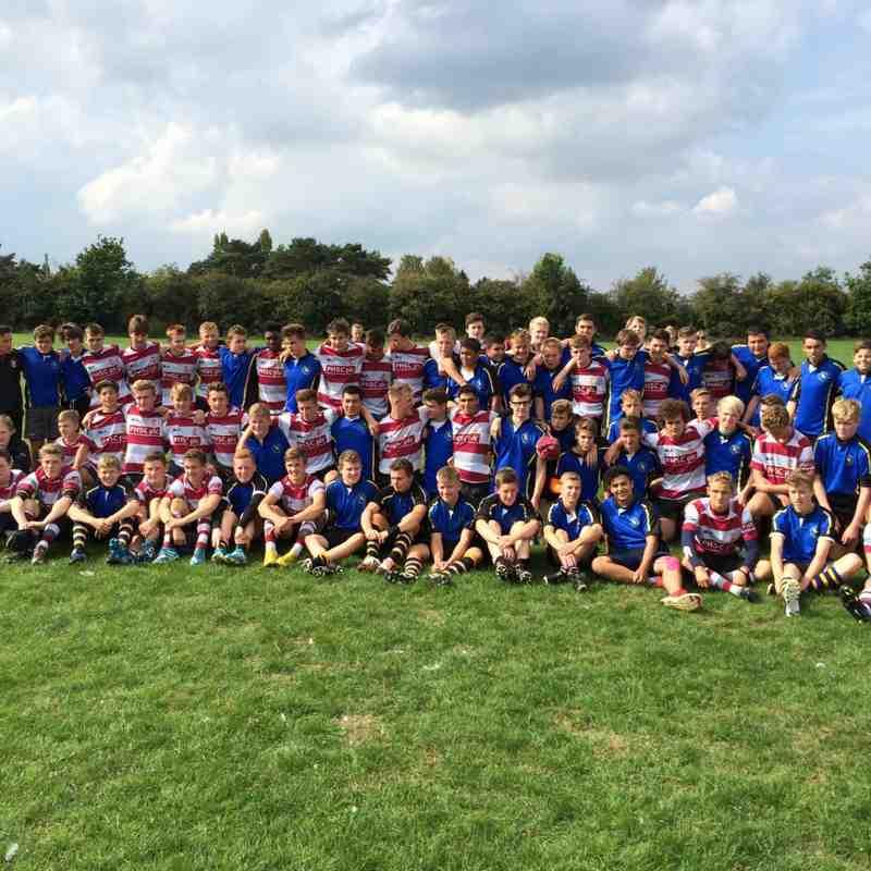 U16s v Hertford 14/09/14