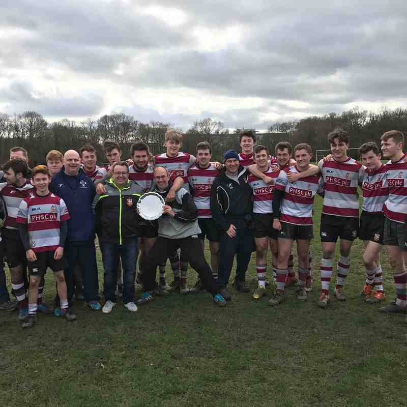 U18s County Cup Final Victory