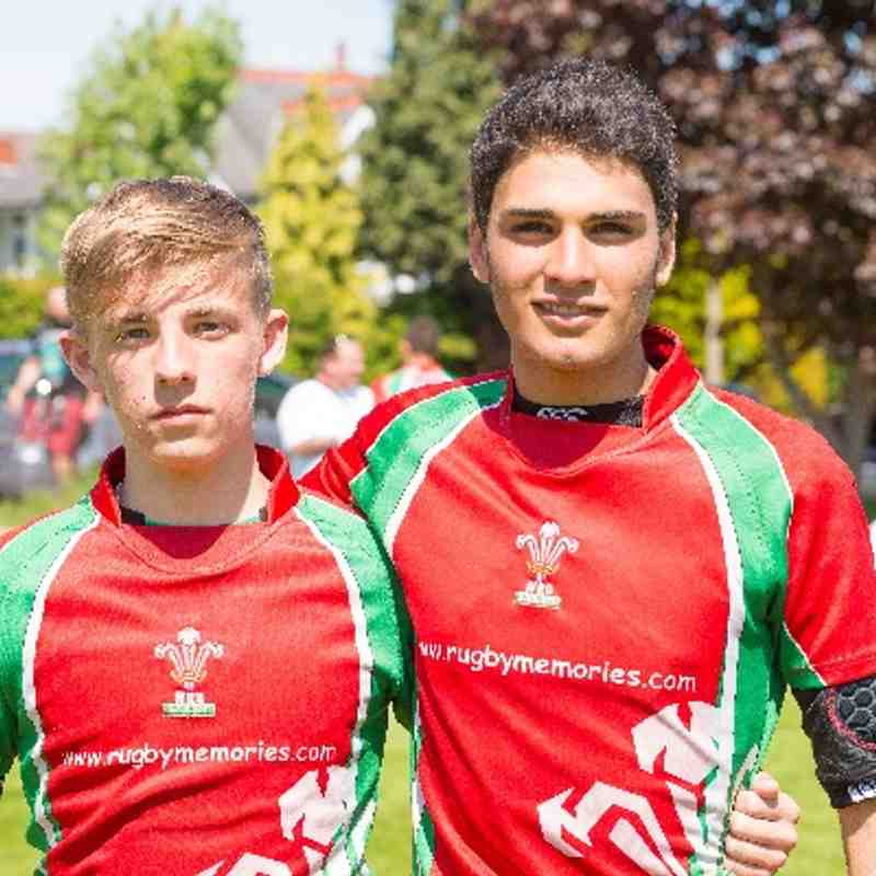 Welsh Exiles U15 - Brentwood RFC representatives