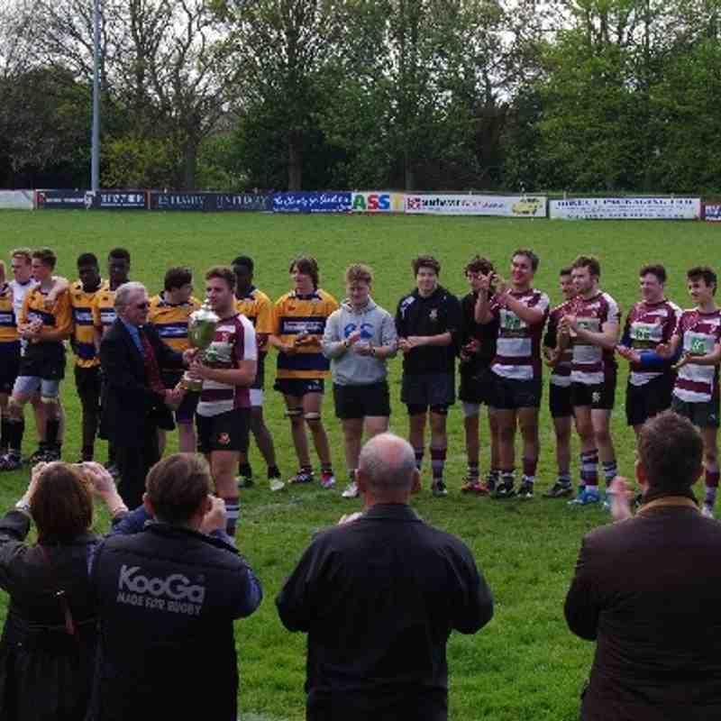 U17 Cup Final vs Upminster 27/4/14