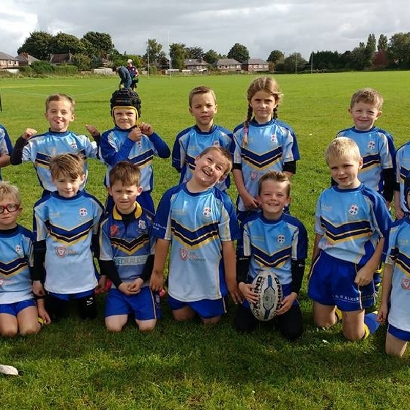 Under 8's Blues beat Cadishead Rhinos
