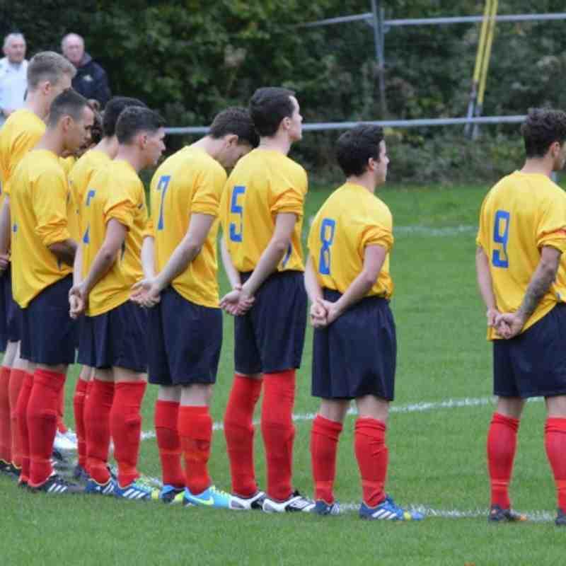 Llangollen Town FC v Buckley Town FC 12/10/13