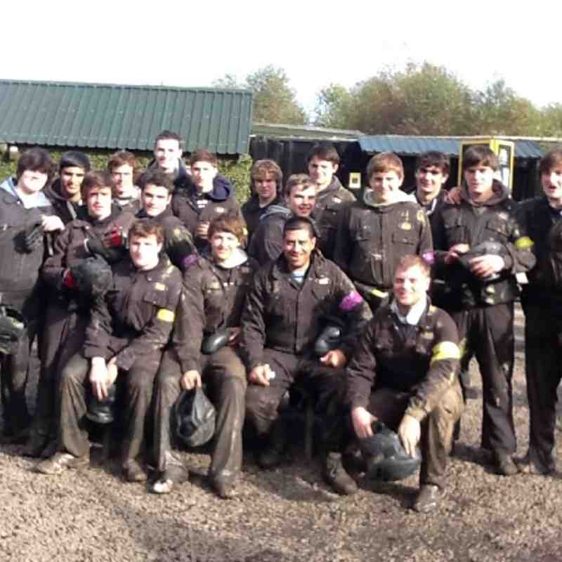 Colts Paintball - Team Building Starts by Shooting Each Other