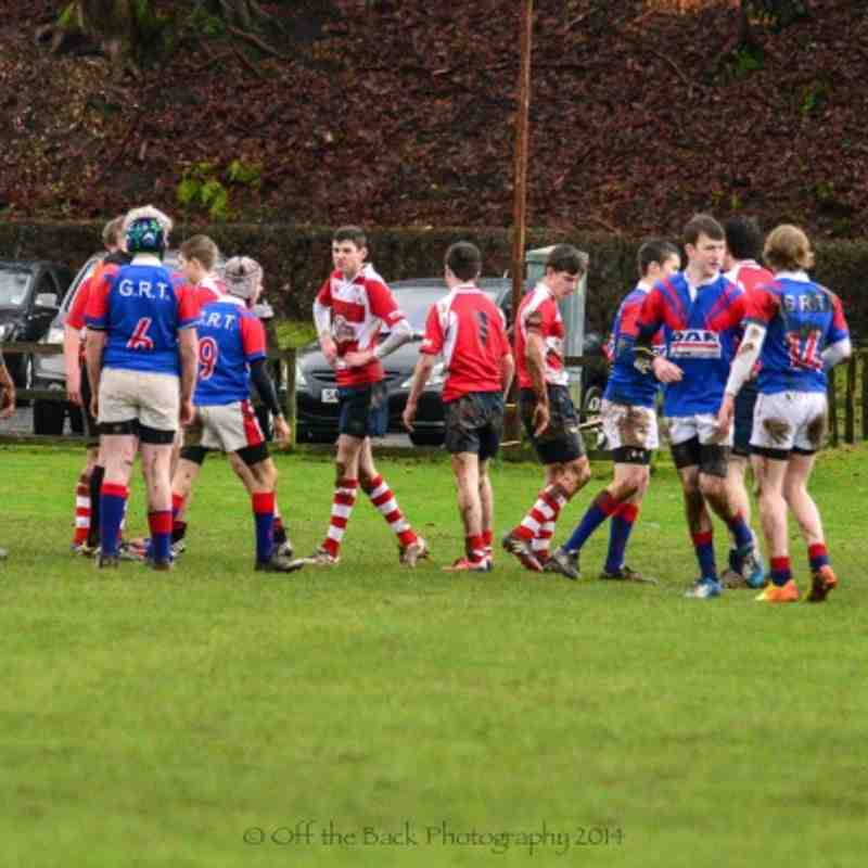 Under 16's v Gala Red Triangle 19.1.14