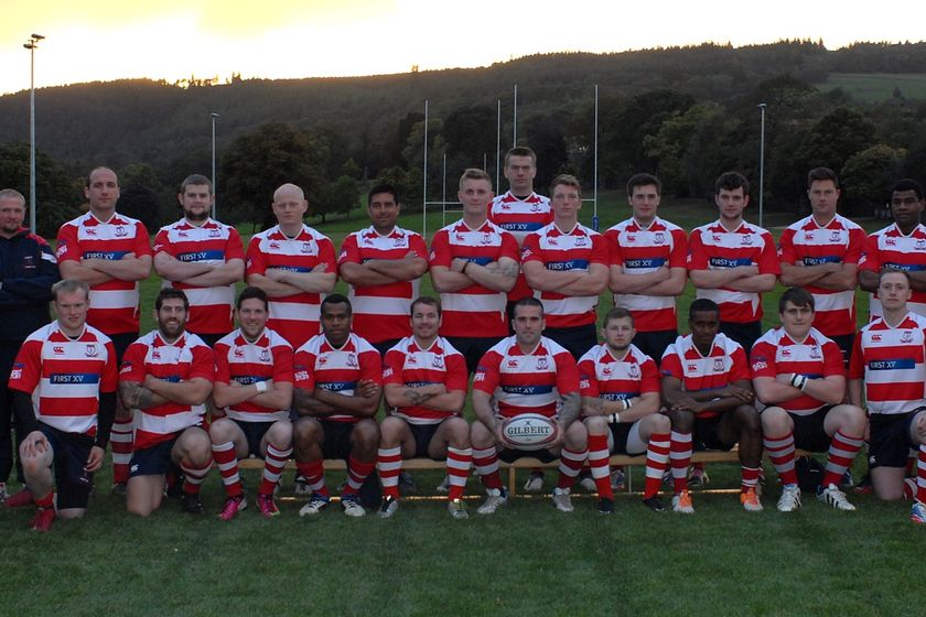 Peebles RFC Reds (2nd XV) beat Ross High RFC 0 - 40