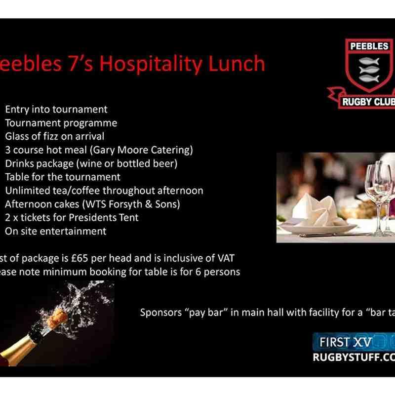 Peebles 7s 2015 Sponsorship Packages