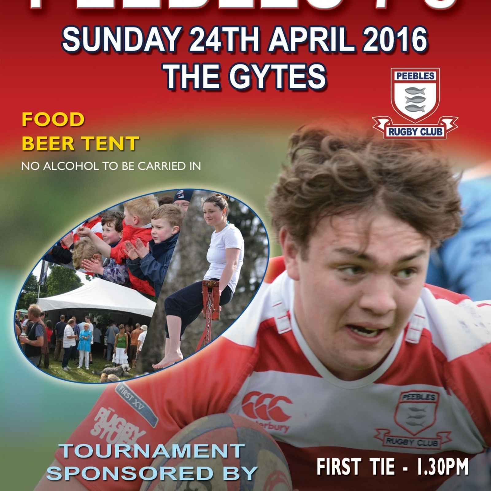 Peebles 7s - This Sunday 24th April